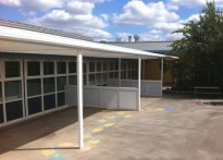 The Brier School - Free Standing Canopy