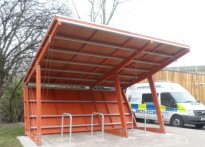 Motorway Patrol Group - Timber Cycle Shelter