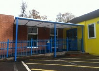 Osborne Nursery & Childcare Centre - Wall Mounted Canopy