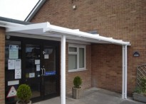 Alderman Jackson School - Wall Mounted Canopy