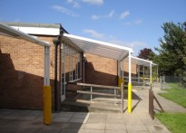 Alderman Jackson School - x4 Wall Mounted Canopy