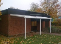 Recreation Road Infant School - Wall Mounted Canopy