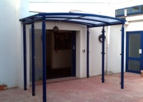 Roselands Primary School - Entrance Canopy