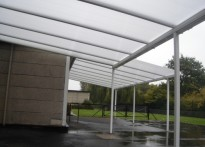 Hobbs Hill Wood Primary School - Wall Mounted Canopy - Fourth Install