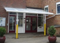 Thorpe House School - Wall Mounted Canopy