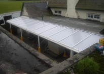 Little Hadham Primary School -2nd Wall Mounted Canopy