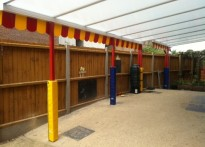 Kids Play Childcare - Wall Mounted Canopy