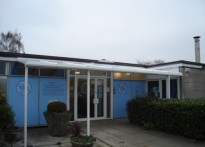 The Links Education Support Centre - Wall Mounted Canopy