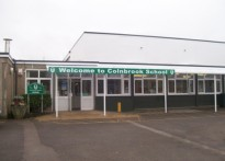 Colnbrook School - Wall Mounted Canopy