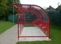 Kingsway Infant School - Cycle Shelter