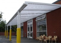 Mystart Day Nursery - Wall Mounted Canopy