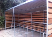 Tune Hotel Group - Timber Cycle Shelter