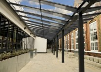 Oakland's Secondary School - 2nd Free Standing Canopy