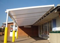 Grove Park Primary School - 2nd Wall mounted canopy