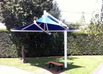 Grove Park Primary School - Tensile Fabric Umbrella