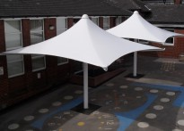 Hucklow Primary School - Free Standing Umbrella Canopy