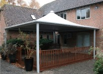 Weber-Stephen Products (UK) Ltd - Free Standing Tensile Fabric Canopy