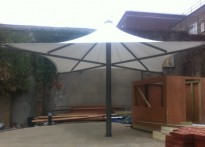 Tune Hotel Group - Free Standing Umbrella Canopy