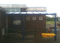 Redscope Primary School - Wall Mounted Canopy