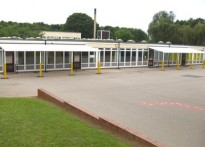 Shaw Wood Primary School - Wall Mounted Canopy