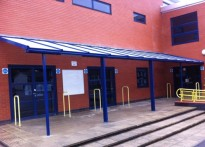 Fleecefield Primary School - Wall Mounted Canopy