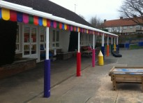 Lovelace Primary School - Wall Mounted Canopy