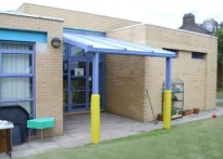 Killinghall Primary School - Wall Mounted Canopy