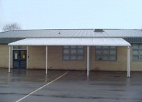 Blakehill Primary School - Wall Mounted Canopy
