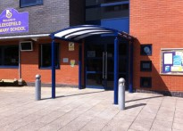 Fleecefield Primary School - Entrance Canopy