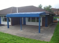 Aunt Mary's Private Day Nursery - Wall Mounted Canopy