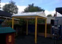 Brighter Beginnings - Free Standing Canopy