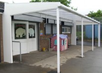 St. Wilfred's Play Group - Wall Mounted Canopy