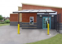 Tyldesley Primary School - Wall Mounted Canopy