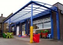 Smithy Bridge Primary School - Free Standing Canopy