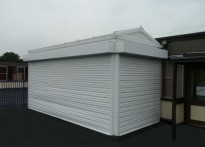 Seven Stars Primary School - Wall Mounted Canopy