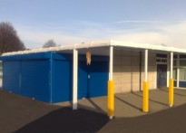 Saltersgate Infant School - Wall Mounted Canopy