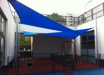 Richard Cloudsley School - Shade Sails