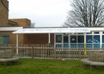 Portland Primary School - Wall Mounted Canopy
