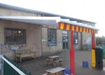 Landseer Play Centre - Wall Mounted Canopy