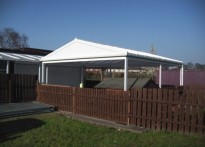 St Nicholas Catholic Primary School - Free Standing Canopy - 2nd Installation