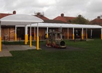 Just Learning Day Nursery - Free Standing Canopy