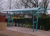 St Saviours Primary School - Cycle Shelter