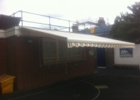 Queen's Park Primary School - Commercial Awning