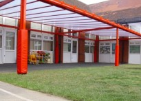 Intake Primary School - Free Standing Canopy