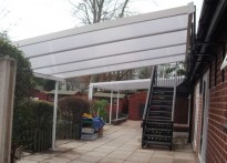 Ruperts Day Nursery - Wall Mounted Canopy