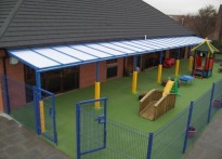 Inchyra Nursery - Wall Mounted Canopy