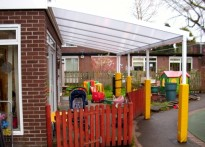 Acorn Grove Nursery - Wall Mounted Canopy