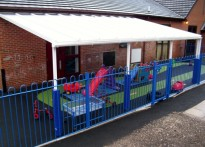 Lighthouse Children's Centre - Wall Mounted Canopy