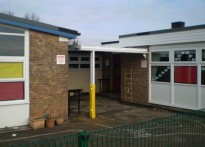 Kirk Sandall Infant School - Wall Mounted Canopies