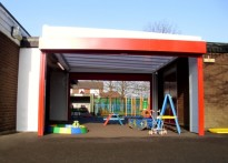 St Mary's Primary School - Free Standing Canopy
